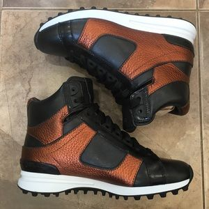 3.1 Phillip Lim Trance Sneakers copper Leather 5